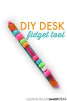 DIY desk fidget tool