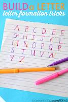 Letter construction for letter formation