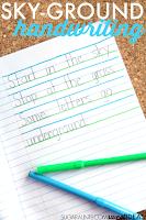 Sky Ground handwriting method