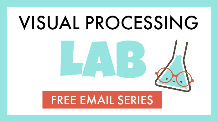 Free visual processing email lab to learn about visual skills needed in learning and reading.