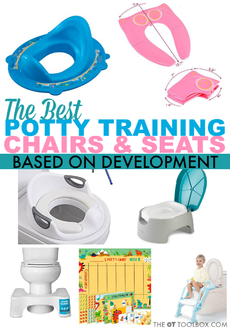 These recommendations for potty training seats are guided by development and great for kids of all needs. Use these potty training seats as suggestions when starting potty training for toddlers or preschoolers.