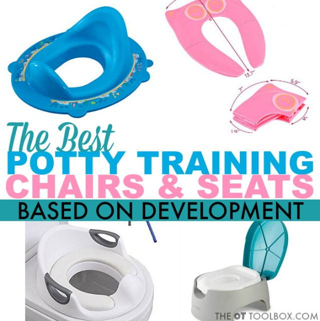 Potty training seats for potty training special needs kids