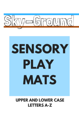a-z sensory play mats