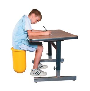 The Stability Tube Chair is a T-Stool seat for the classroom or home.