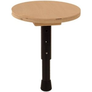 Single leg T-Stool offers a flexible seating option for classrooms.