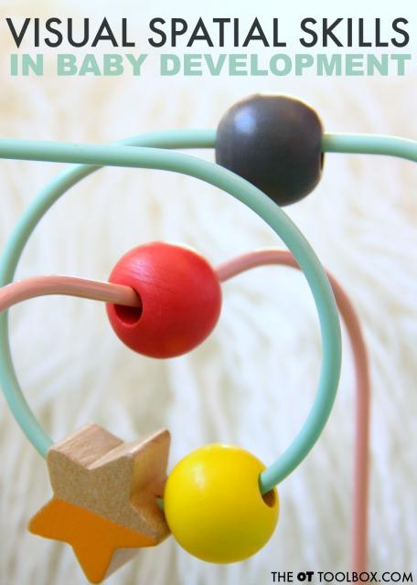 Spatial relations development activities for babies