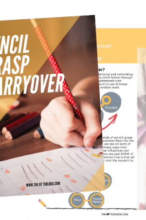 handwriting interventions for carryover