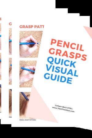 visual pencil grasp info