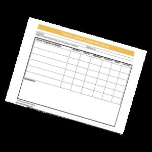home program sheet