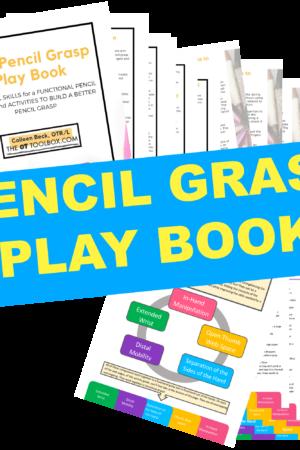 Pencil grasp activities to strengthen fine motor skills for kids
