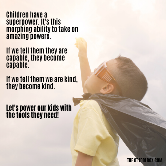 Play builds skills that kids need to build skills.
