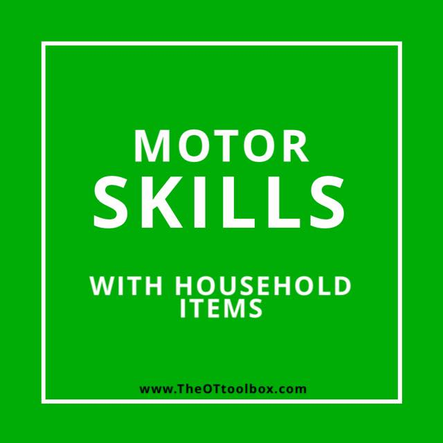 motor skills activities occupational therapy teletherapy activities