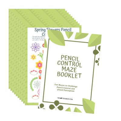 Help kids with pencil control skills using this fun workbook