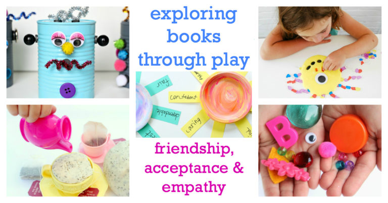 Exploring books through play is a guide to using children's books in therapy and while building developmental skills.