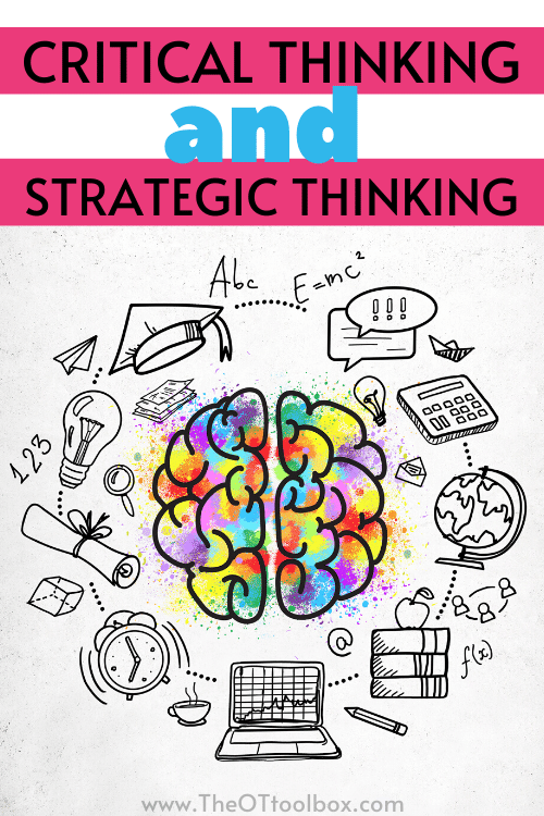 Critical thinking or strategic thinking? Which is it?