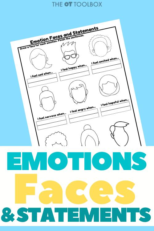 Social Emotional Learning Worksheet