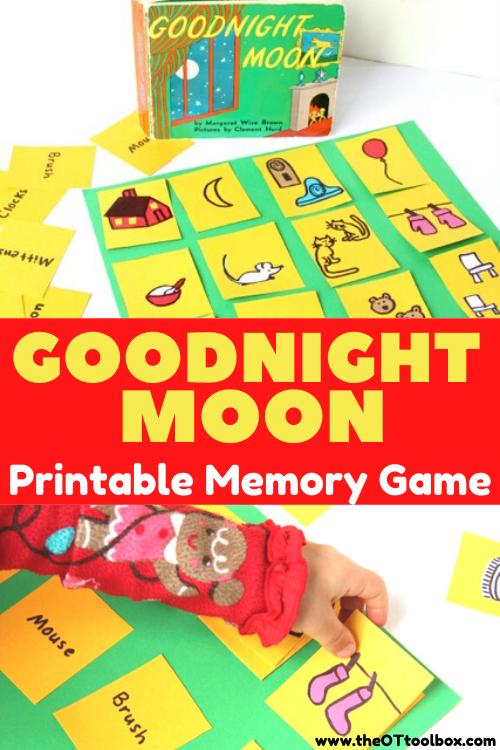 Goodnight Moon activity and Goodnight Moon pdf printable