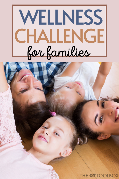 Wellness challenge and ideas for health and wellbeing activities