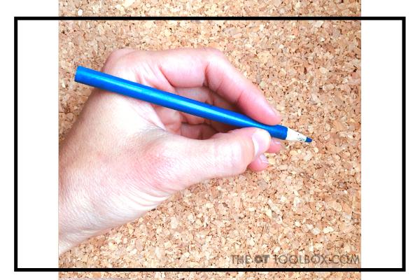 Dynamic tripod pencil grasp is a mature pencil grasp