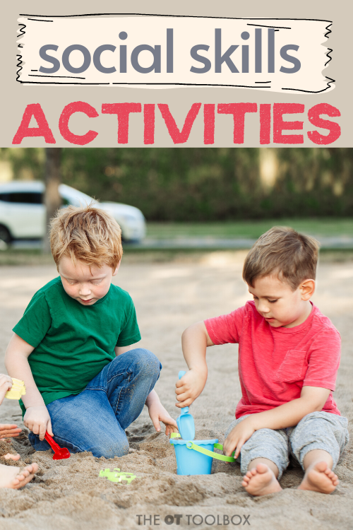 Use these social skills activities to help kids build awareness of others and develop social emotional awareness.