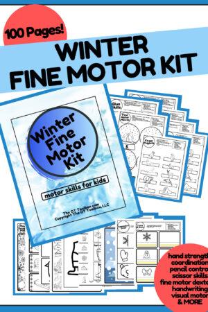 winter fine motor kit