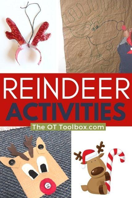 reindeer activities for kids