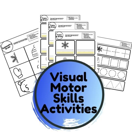 winter visual motor activities