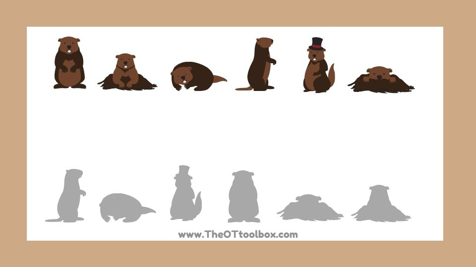 groundhog's day vision puzzle