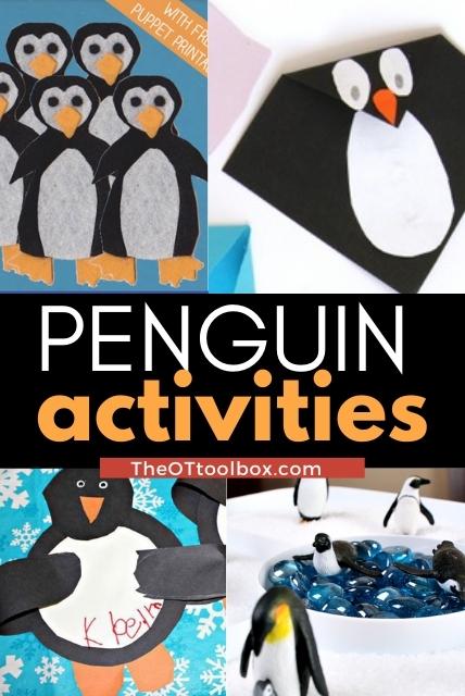 Penguin activities for kids