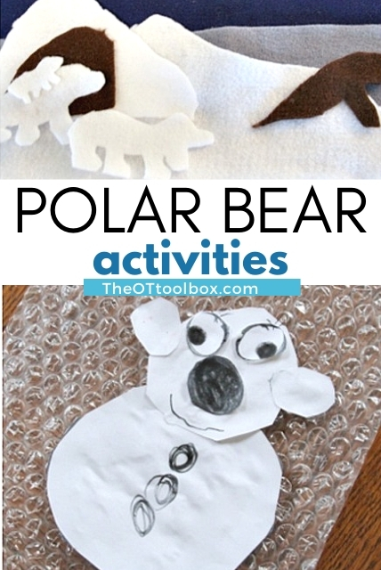 polar bear theme for therapy