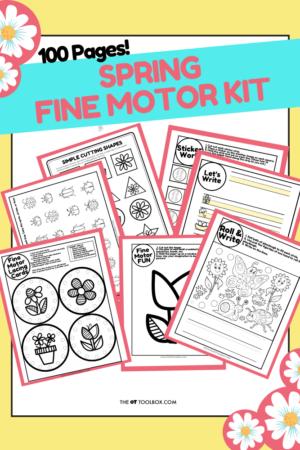 Spring Fine Motor Kit