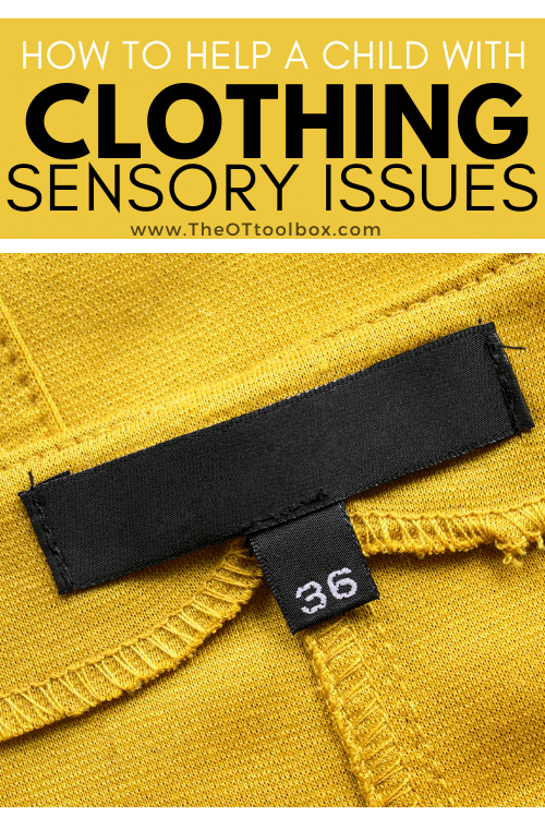 How to help your child with clothing sensory issues