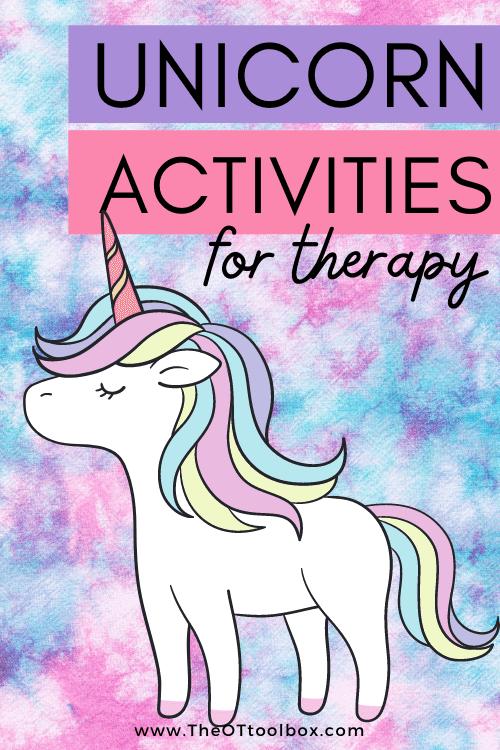 Unicorn activities