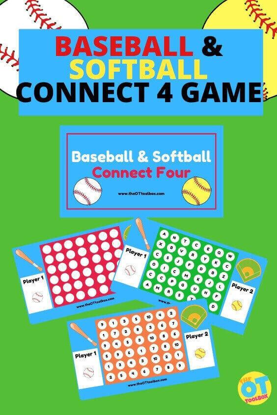 baseball and softball activity