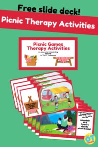 virtual picnic therapy slide deck