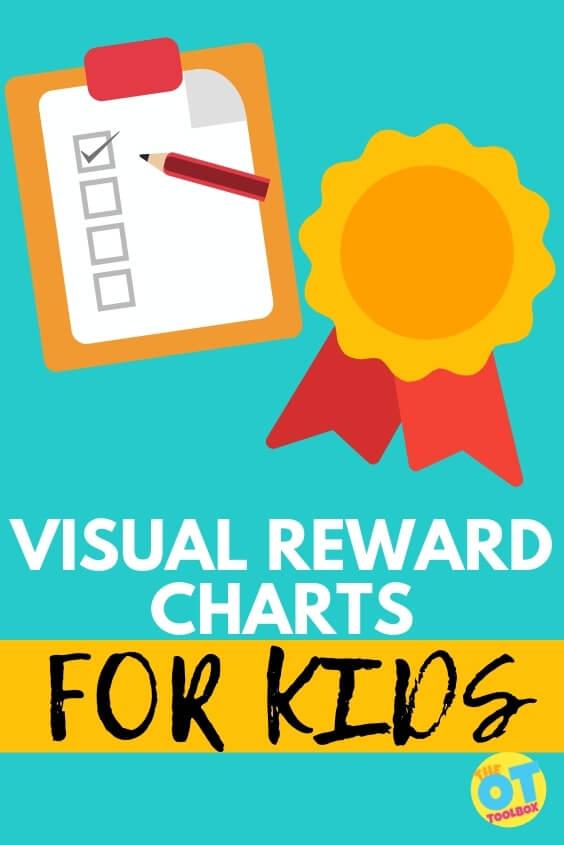 Use visual reward charts in visual schedules.