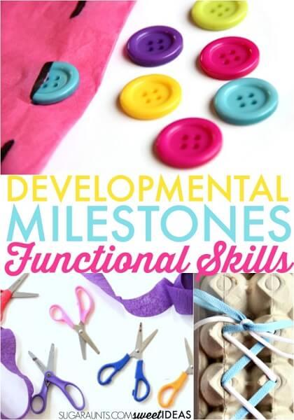 Developmental milestones and functional child development in kids.