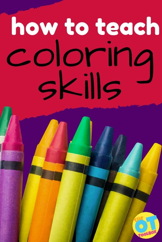 How to teach coloring skills to kids