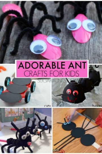 ant crafts for kids