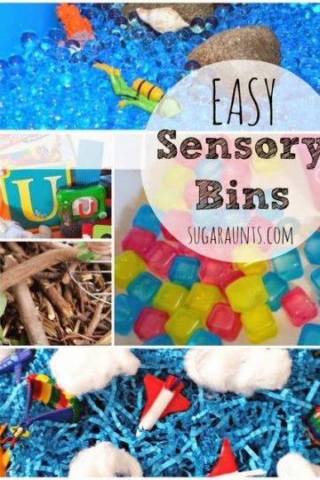 easy sensory bin ideas