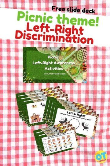 left right discrimination activity