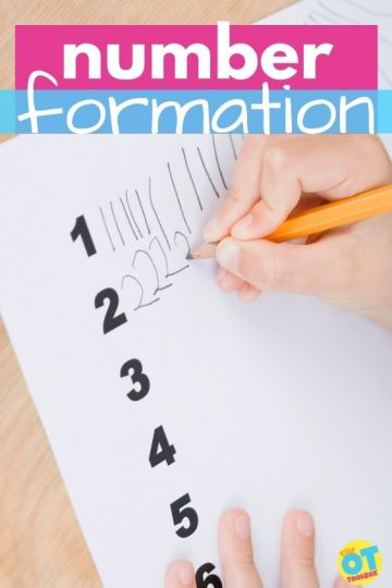 number formation activities