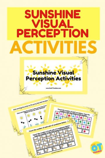 sun visual perception activities