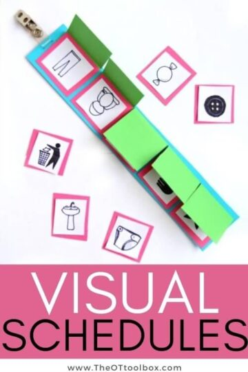 Visual schedules for kids
